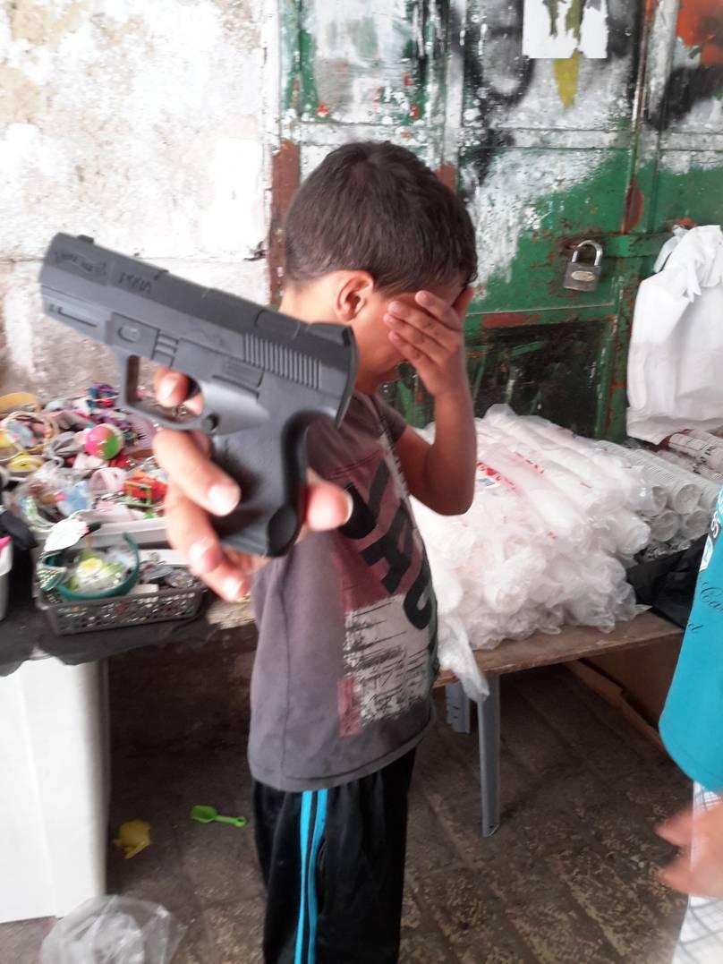 Preocupa la violencia con la que viven los niños palestinos