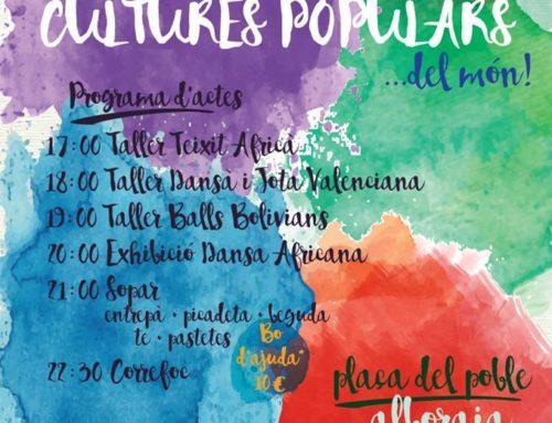 FIESTA INTERCULTURAL, DE LES CULTURES POPULARS…DEL MÓN!! #FEM10ANYS