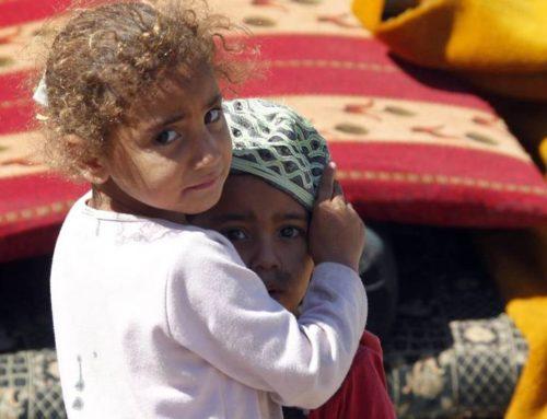 SEIS AÑOS DE GUERRA EN SIRIA: EL INVIERNO DE LOS NIÑOS DE LOS PIES EN LOS HIELOS,  por Lola Bañon