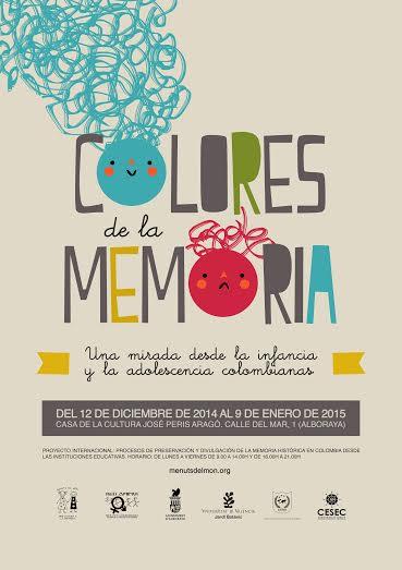 Exposición Internacional COLORES DE LA MEMORIA